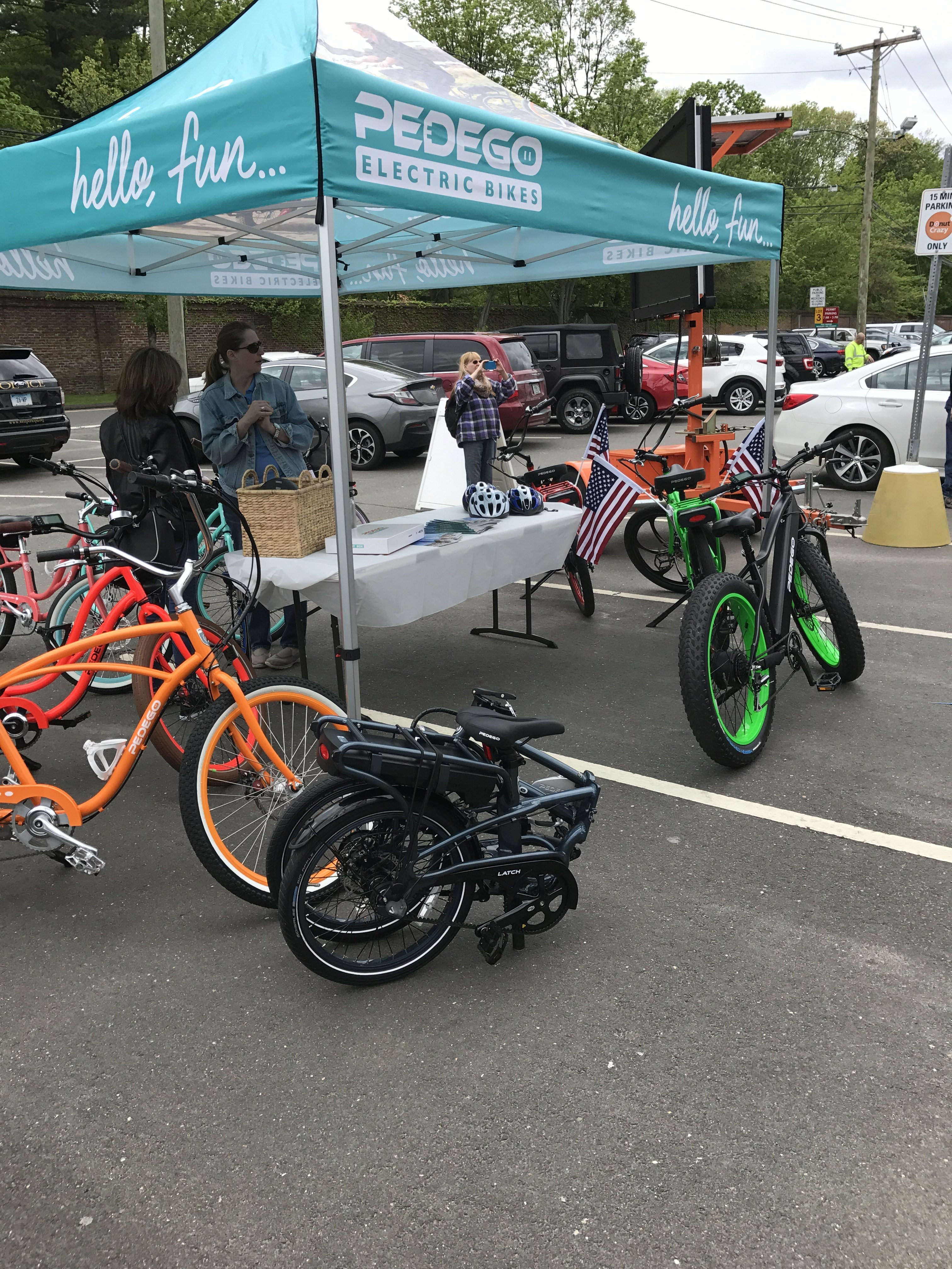 Pedego Electric Bikes, part of 2017 EV Road Rally