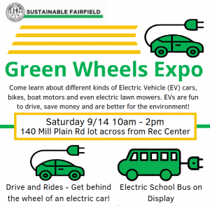 Green Wheels Expo - National Drive Electric Week, Fairfield, CT