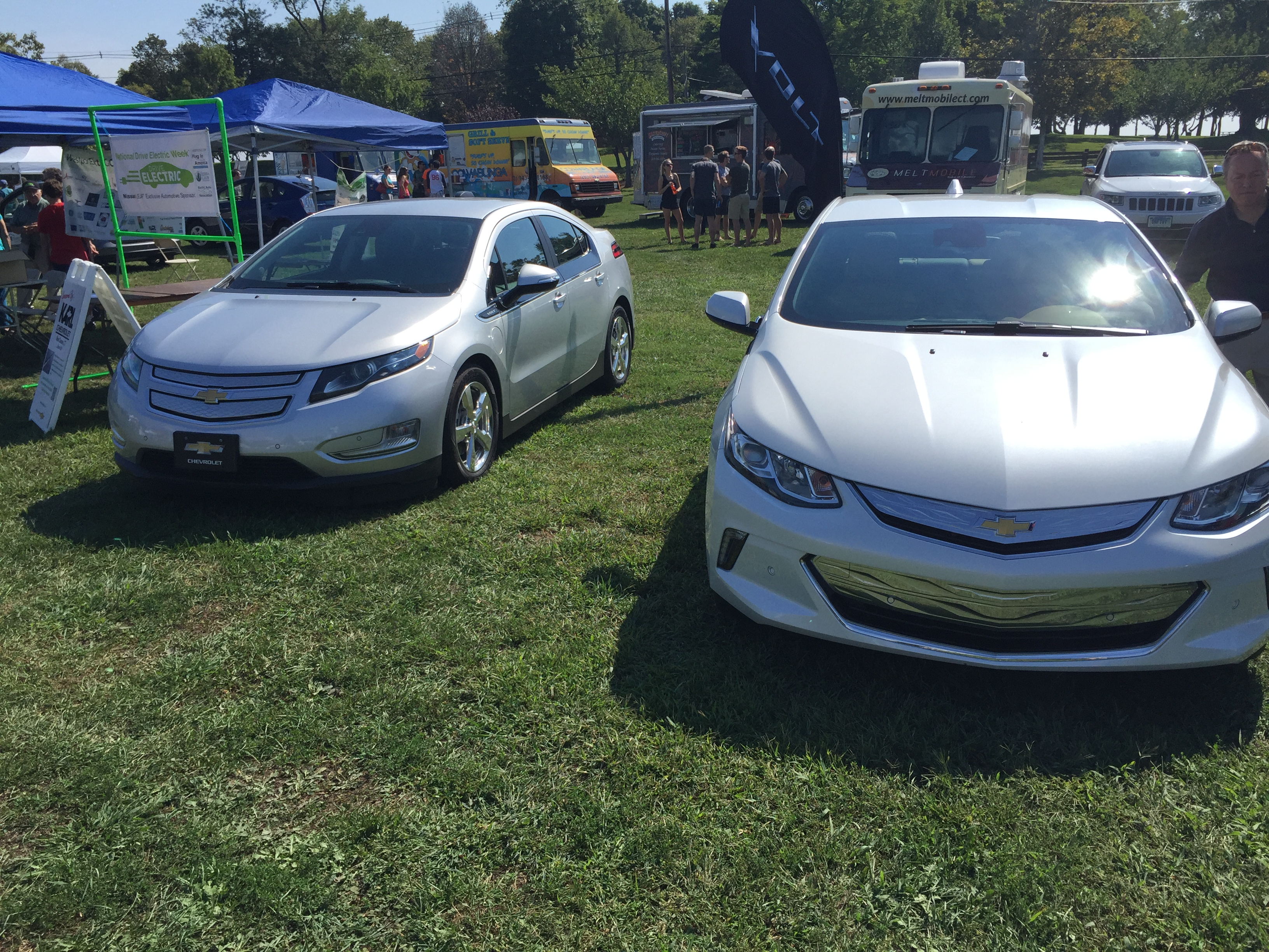 Chevy Volt Gen 1 and Gen 2