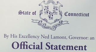 Governor Lamont Proclamation on Drive Electric Week, EV Club of CT