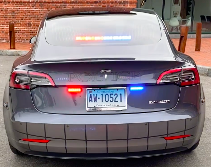 Westport CT Model 3 Police Squad Car