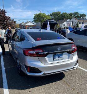 Police Honda Clarity